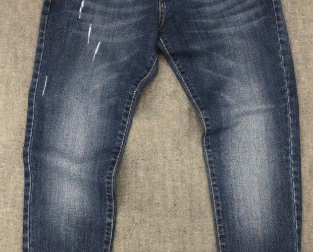 Jeans de vanguardia. Colores degradados