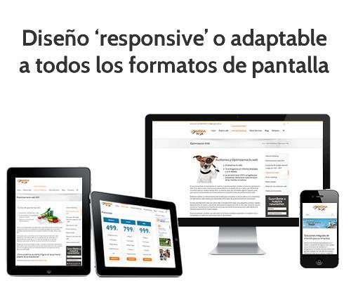 Diseño Web.Diseño web adaptativo