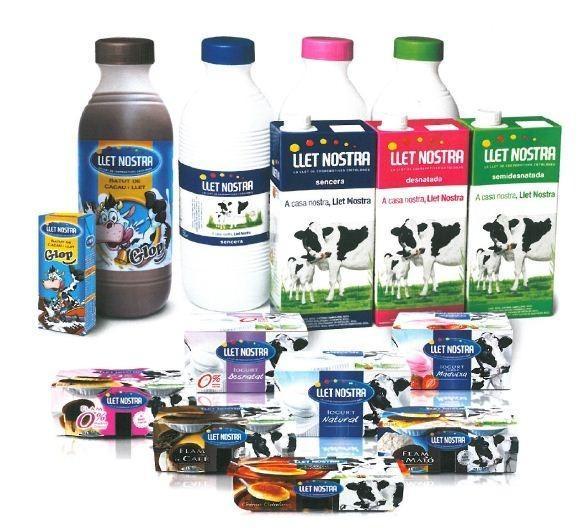 Proveedores de leche. La mejor leche de Cataluña