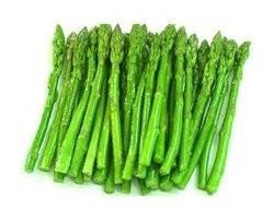 Verduras congeladas. Espárragos