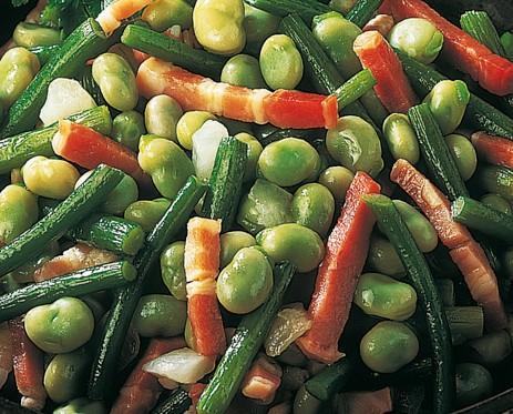 Salteados y ensalada. Verduras para salteados y ensalada