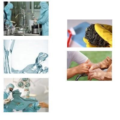 Higiene alimenticia. Tratamiento del agua, servicios geriátricos