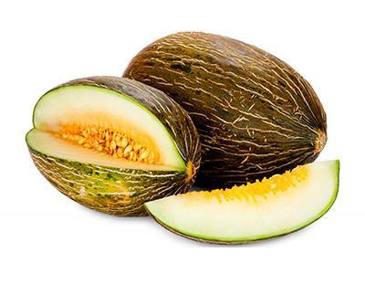 Frutas. Melones. Destaca por su alto contenido de agua y su dulzura