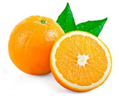 Naranja. Alto contenido en vitamina C