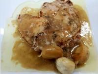 Proveedores Pollo al roquefort y champiñones
