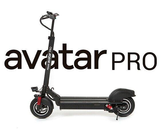 NUWA Avatar Pro. Patinete eléctrico con nuevo motor de 500W y práctica funda de transporte