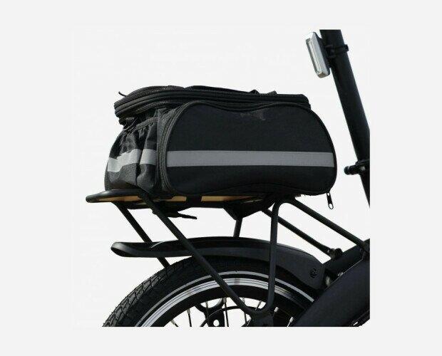 Bolsa para Parrilla. Diseñada para adaptarse perfectamente a cualquier parrilla de bicicleta