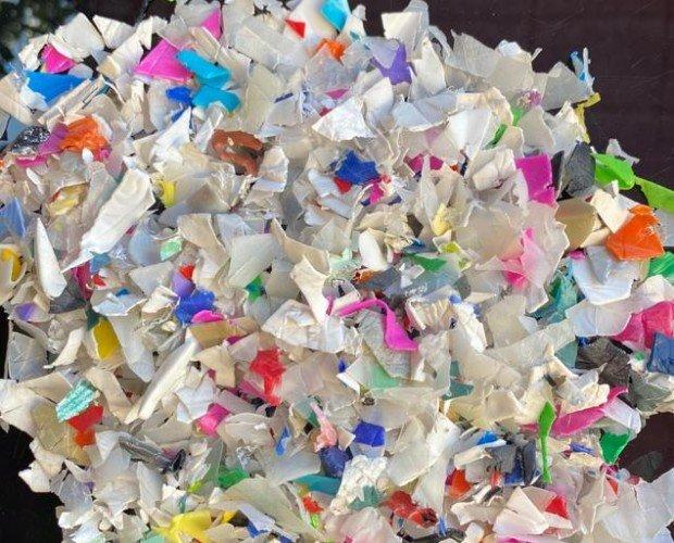 Plástico Reciclado.CANTIDAD DISPONIBLE 80 T / MES