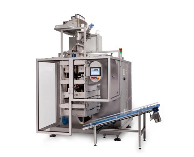 Máquina de alta producción. Con posibilidades personalizadas ilimitadas