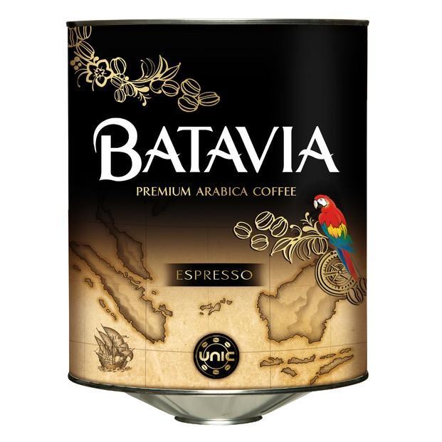 Café en grano Gran Selección. Café Batavia en botes de 3 kg