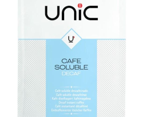 Café soluble. Café soluble descafeinado