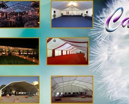 Organización de Eventos.Alquiler y montaje de carpas