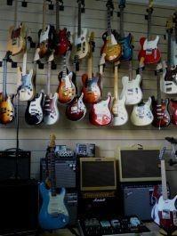 Instrumentos. Guitarras