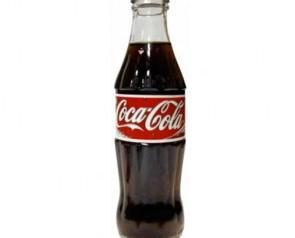 Coca-cola. Retornable de 1/4