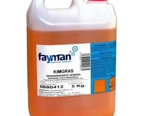Desengrasante Fayman. Muy rendidor y eficaz