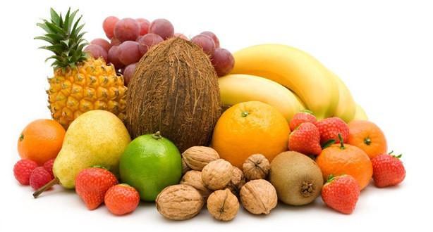 Frutas. Gran variedad de frutas nacionales