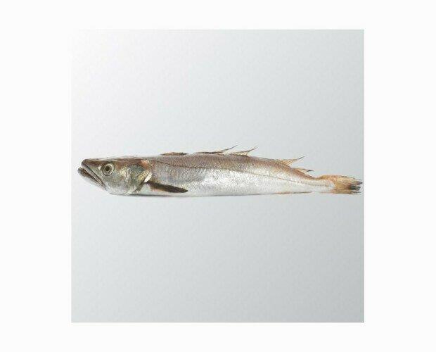 Merluza Fresca.Se captura en costas onubenses aportándole un sabor y textura claramente diferenciado