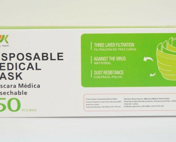 Mascarillas médicas R2. Mascarilla con 98% de eficacia de filtración