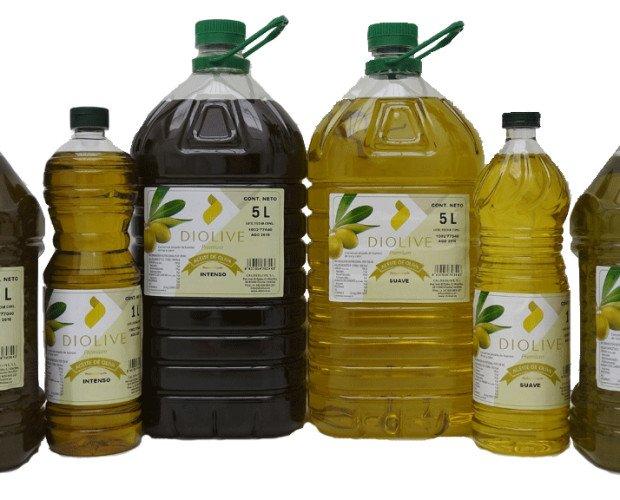 Aceite de oliva. Aceite obtenido tras realizar una mezcla de aceite de oliva virgen, y un aceite de oliva refinado químicamente