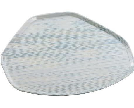 Bandeja partner. Bandejas en poliéster reforzado con fibra de vidrio y revestimiento de melamina.
