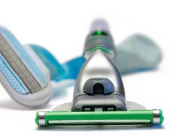 Cuchillas de afeitar. El mejor cuidado y calidad