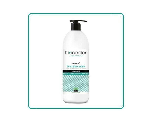 Champú Ecológico Fortalecedor. Eficaz para ayudar a depurar el cuero cabelludo y reforzar el cabello
