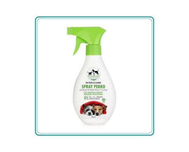 Spray Perro. Ayuda a eliminar los malos olores entre los baños y las sesiones de aseo