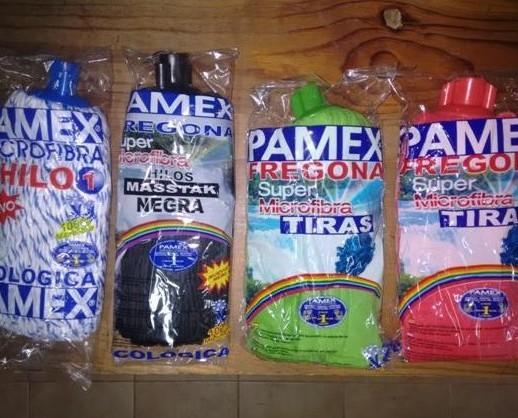 Equipos de Limpieza del Hogar.Novedad: Mocho microfibra negro. Nueva gama PAMEX