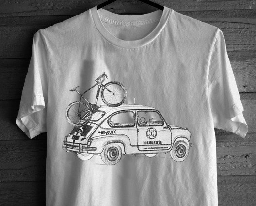 Camisetas Estampadas de Hombre.Camiseta Modelo 600, modelo vintage de camiseta.