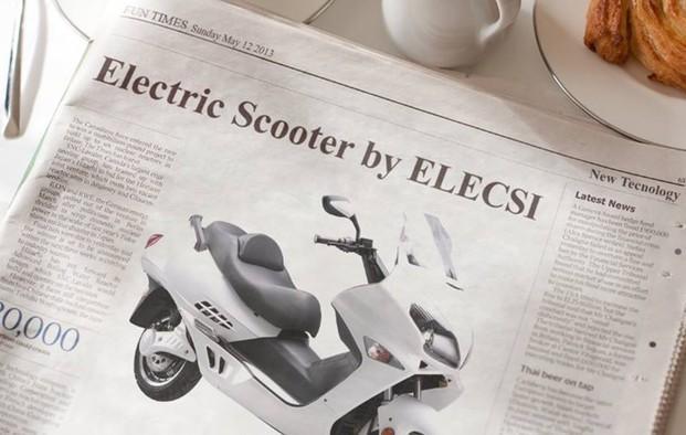 Scooters eléctricos. Vehículos eléctricos