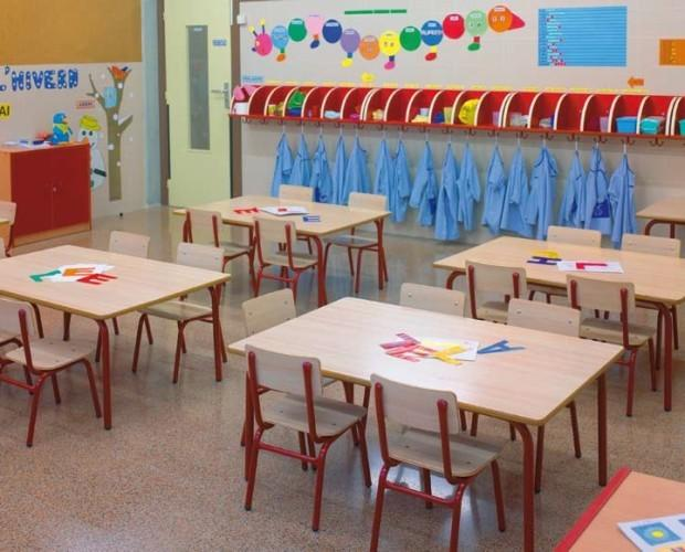 Mobiliario escolar. Mobiliario escolar: mesas sillas, pupitres, armarios