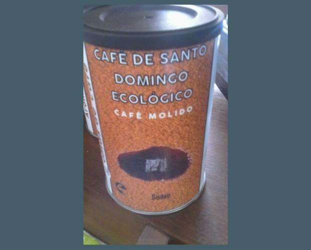 Café molido ecológico. Café de Santo Domingo ecológicio