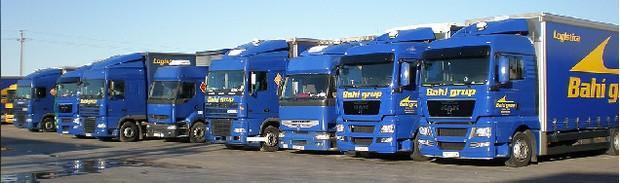 Flota. Transporte de mercancías por carretera