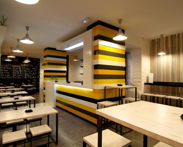 Bar de tapas. Proyecto de interiorismo para bar de copas y tapas
