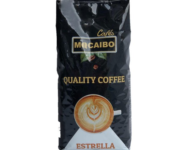Café Estrella. Un café en grano que ofrece un resultado excepcional. Disponible natural y mezcla.