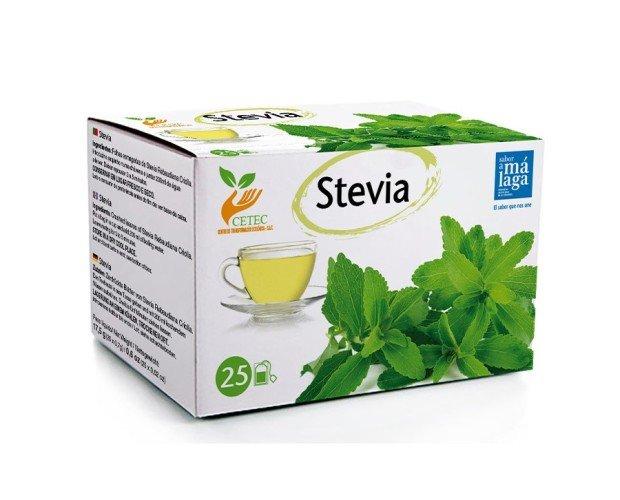 Stevia Infusiones. Hojas de Stevia en Cajas de 25 unidades