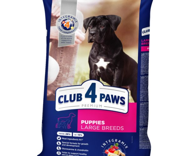 Pienso para Cachorros. Pienso Seco para Cachoros de Razas Grandes con Pollo 14 kg