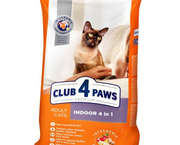 Pienso premium para gatos. CLUB 4 PAWS Premium