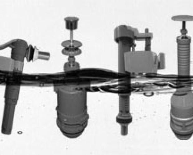 válvulas para inodoros. componentes para inodoros