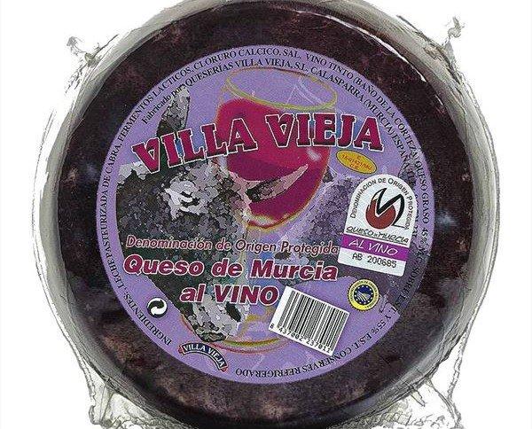 Queso de Cabra al Vino. DO. Murcia, para una exquisita degustación