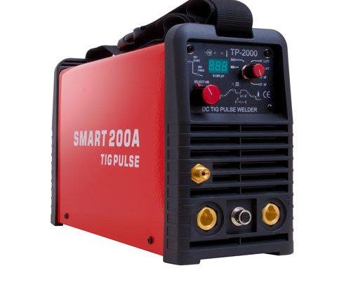 Soldador Smart 200 Tig Pulse. La garantía es de un año