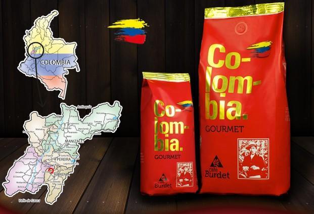 Café en grano Colombia gourmet