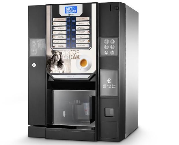 Instalación de Máquinas de Café para Vending.Maquina de café en grano modelo Brio Up