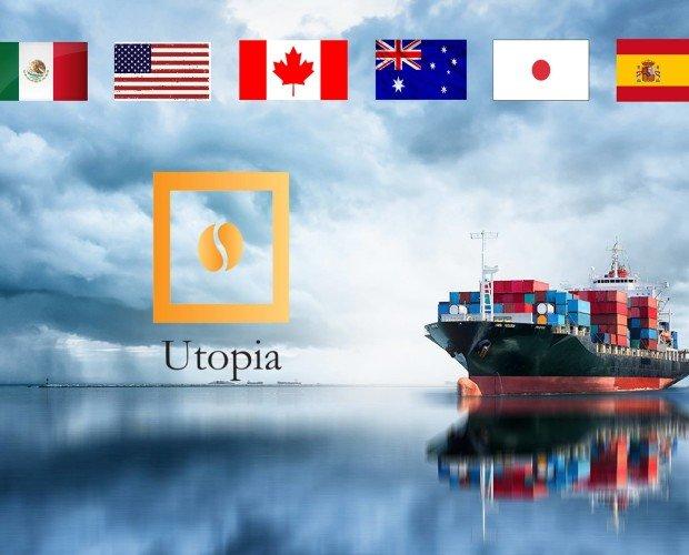 presencia en paises. Utopía Café en el mundo