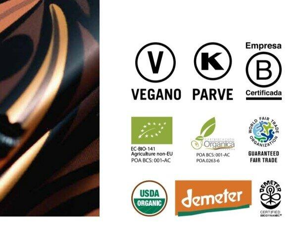 Pacari. Nuestra empresa y nuestro chocolate tienen certificados de calidad