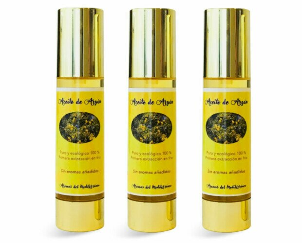 Aceite de Argan bio 50 ml. Aceite de Argan bio 50 ml importado de Essaouira bio en botella airless