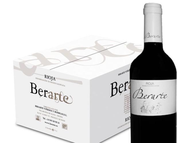 Berarte Vino Tinto. Vino Tinto Rioja Berarte