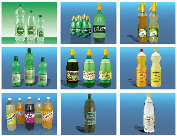 Refrescos Sanmy. Refrescos cola, naranja, limón, agua con gas y más