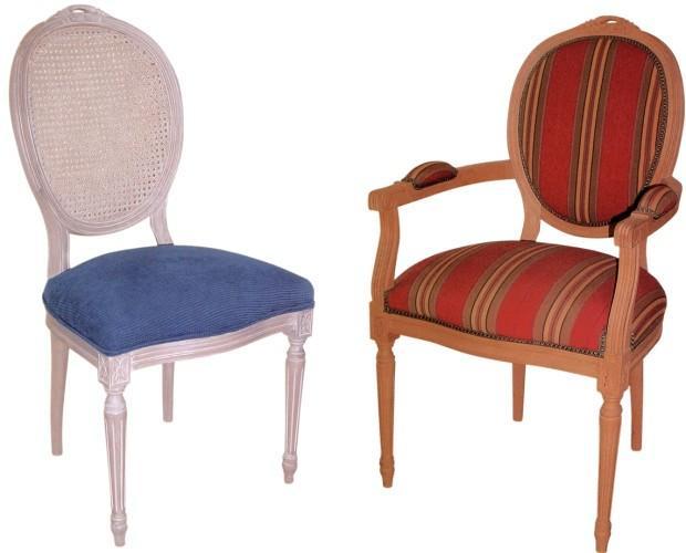 sillas y sillones. sillas clásicas