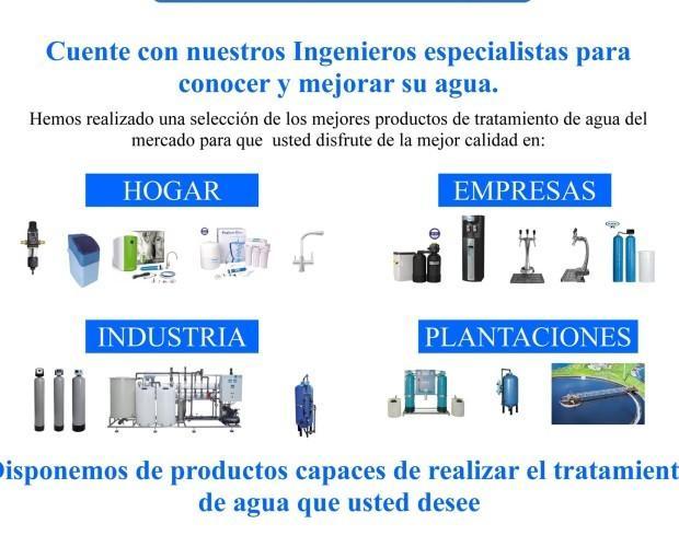 Productos eMASTECH. Alquiler de fuentes de agua, dispensadores, etc